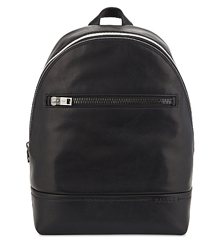 BALLY Tiga Novo leather backpack (Black