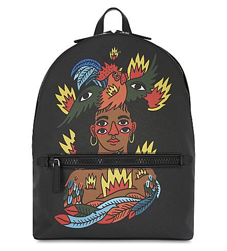BALLY Swizz Beats Gattes backpack (Black
