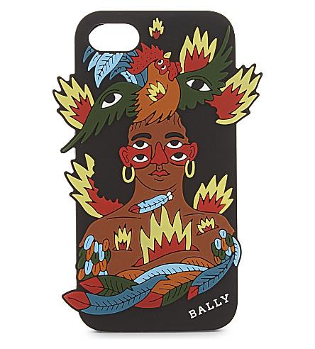BALLY Iphone 7 silicone case (Multicolour
