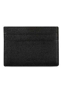 BALLY Black credit card clip holder