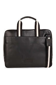 BALLY Trainspotting leather bus bag