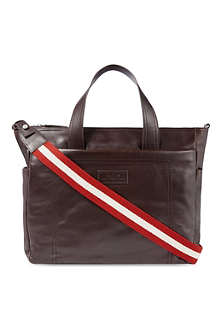 BALLY Leather tote