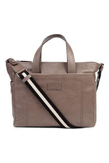 BALLY Trainspotting leather tote