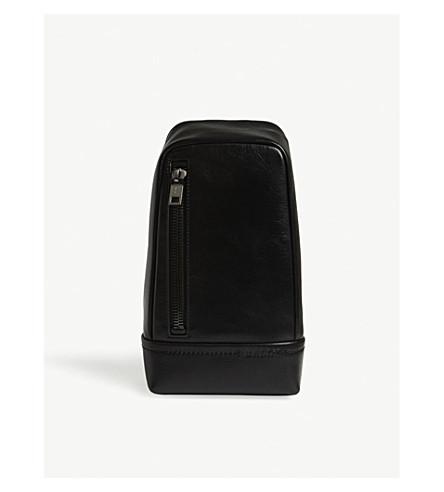 BALLY Tranis leather cross-body bag (Black