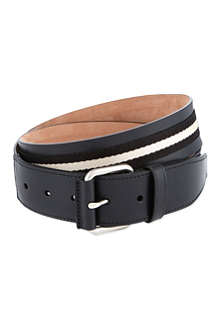 BALLY Tianis-40 leather belt