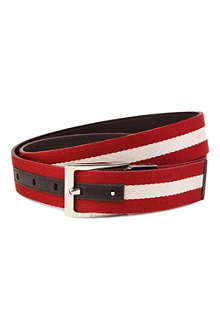 BALLY Tonni canvas belt