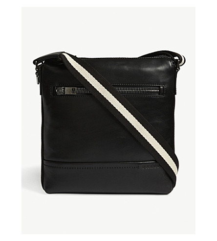BALLY Trezzi leather shoulder bag (Black