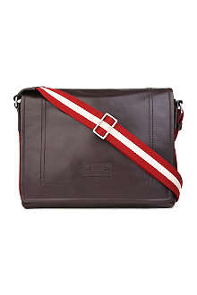 BALLY Triar leather messenger bag