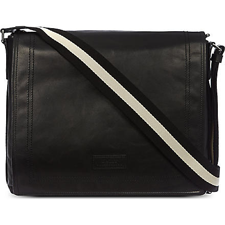 BALLY Trainspotting messenger (Black