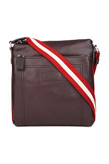 BALLY Tuston leather messenger bag