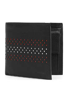 BALLY Verbier perforate billcoin wallet