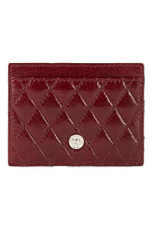 GTO Quilted leather card case