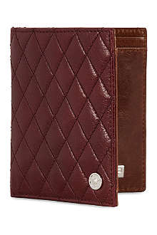 GTO Quilted leather billfold
