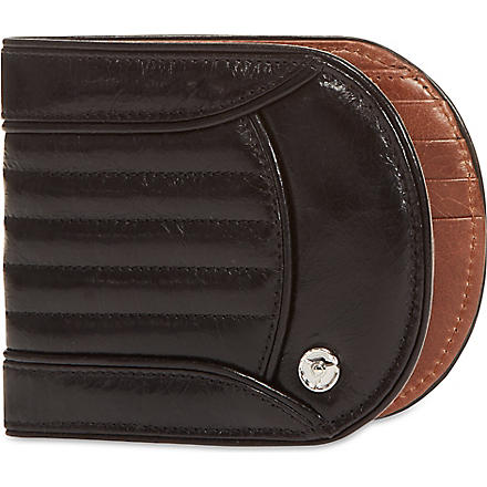 GTO Stitched leather billfold (Black