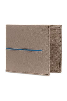 TODS Grained leather billfold wallet