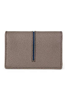 TODS Stripe-detail grained leather case