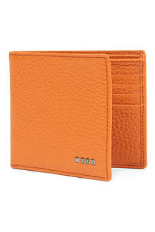 TODS Pebbled leather wallet