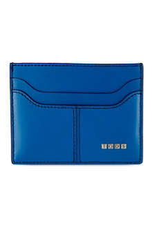 TODS Soft leather card holder