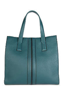 TODS Pebble-leather tote bag