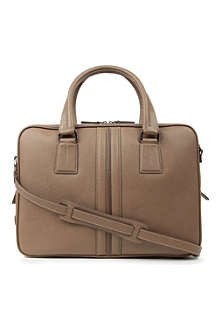 TODS Slim leather business bag