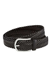 TODS Woven leather belt