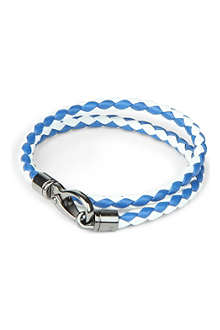 TODS My Colours plaited-leather bracelet