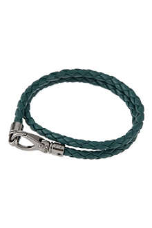 TODS Plaited leather bracelet