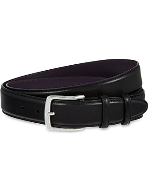 ELLIOT RHODES Nappa leather belt