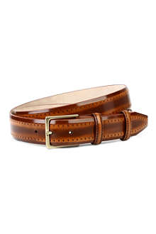 ELLIOT RHODES Pacino leather belt