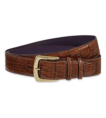 ELLIOT RHODES Coda farkhan belt (Cuero