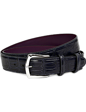 ELLIOT RHODES Coda farkhan leather belt