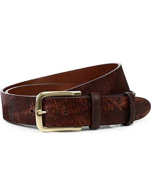 ELLIOT RHODES Grant velvet belt