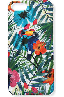 HIGH SNOBIETY Tropical Forest iPhone 5 case