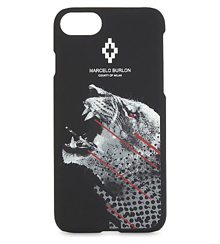 MARCELO BURLON Sham iPhone 7 case (Black+multi