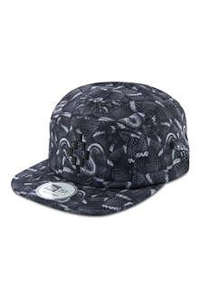 MARCELO BURLON Python print baseball cap