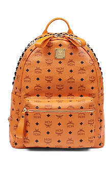 MCM Medium Stark studded backpack