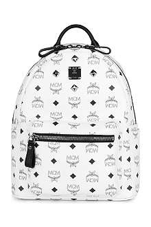MCM Studded stark small backpack