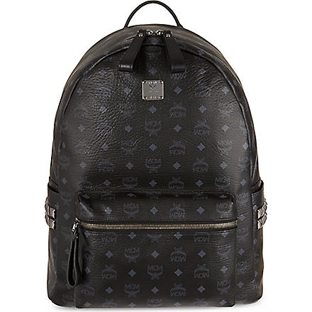 MCM Stark classic medium backpack (Black