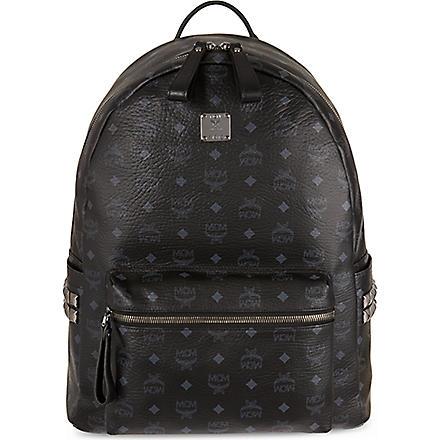 MCM Stark classic large backpack (Black
