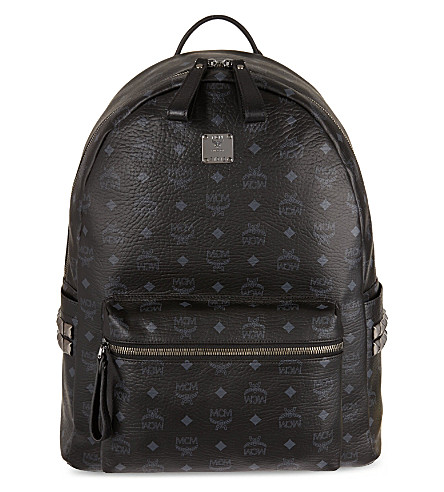 MCM Stark classic large backpack (Black