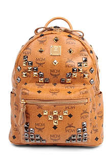 MCM Small studded stark backpack