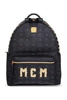 MCM Stark plaque medium backpack