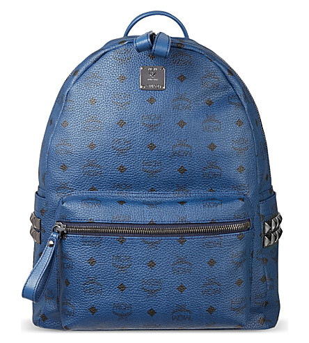 MCM Medium Stark classic backpack (Navy