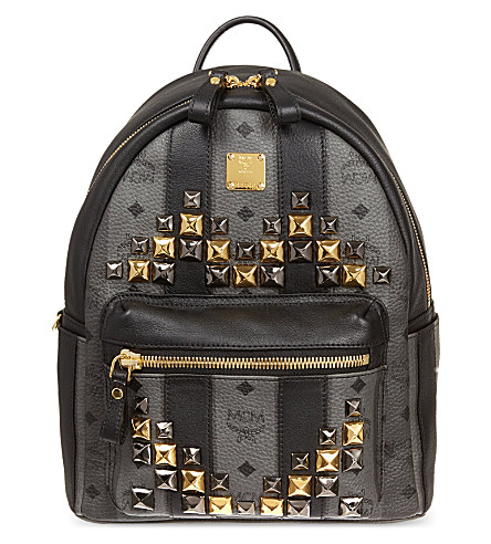 MCM Road Stripe backpack (Grey