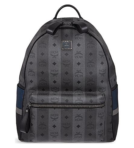 MCM Munich Lion medium backpack (Grey