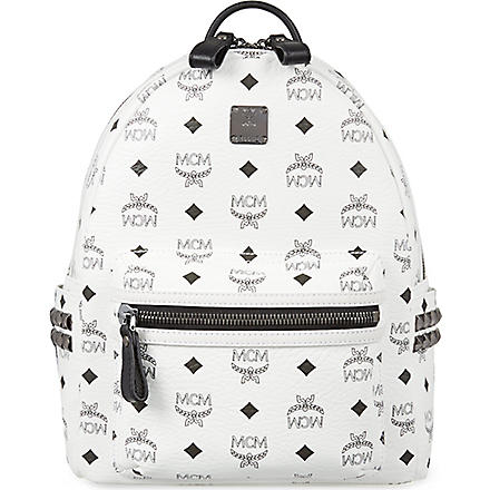 MCM Classic Stark backpack (White