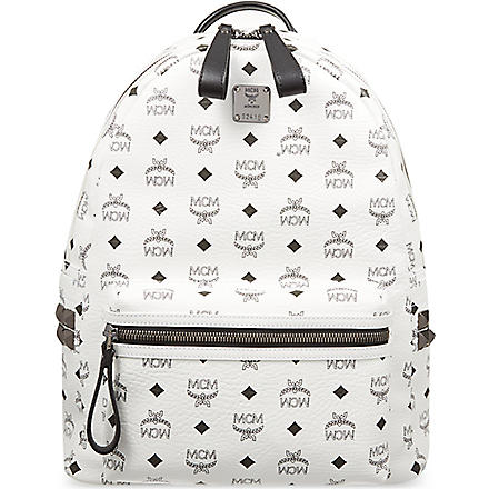 MCM Stark classic medium backpack (White
