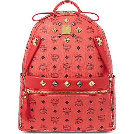 MCM Dual stark medium backpack (Red
