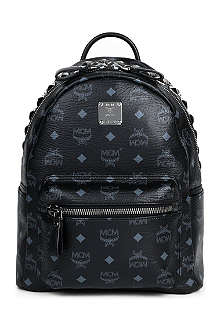MCM Studded leather small backpack
