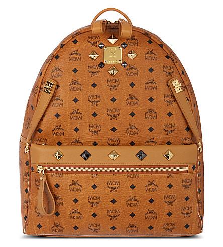 MCM Stark backpack (Cognac